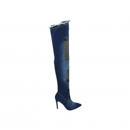 Støvletter - Demi blå