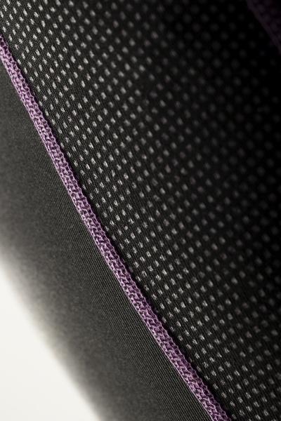 Treningstights - Craft Delta Compression long tights Svart/Lilla