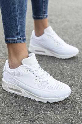 Sneakers - Åse hvit