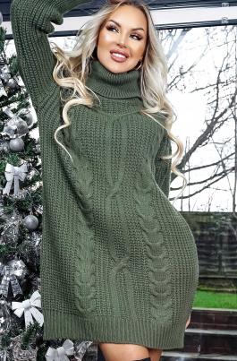 Kjole - Melanie khaki