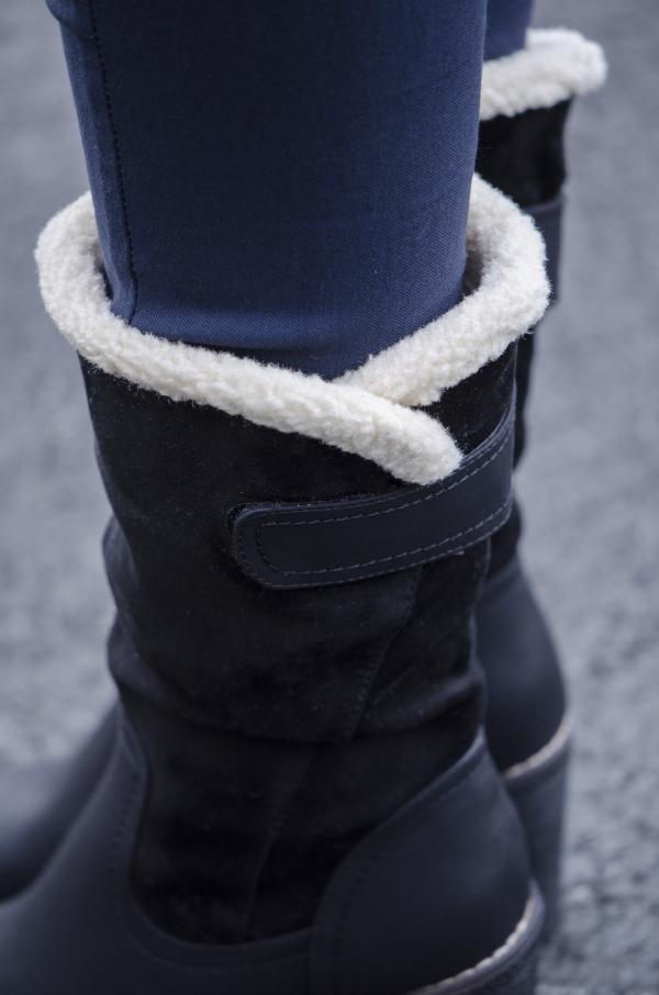 Støvletter - Adriana svart
