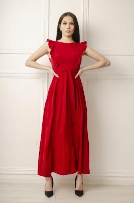 Kjole - Coleen rød