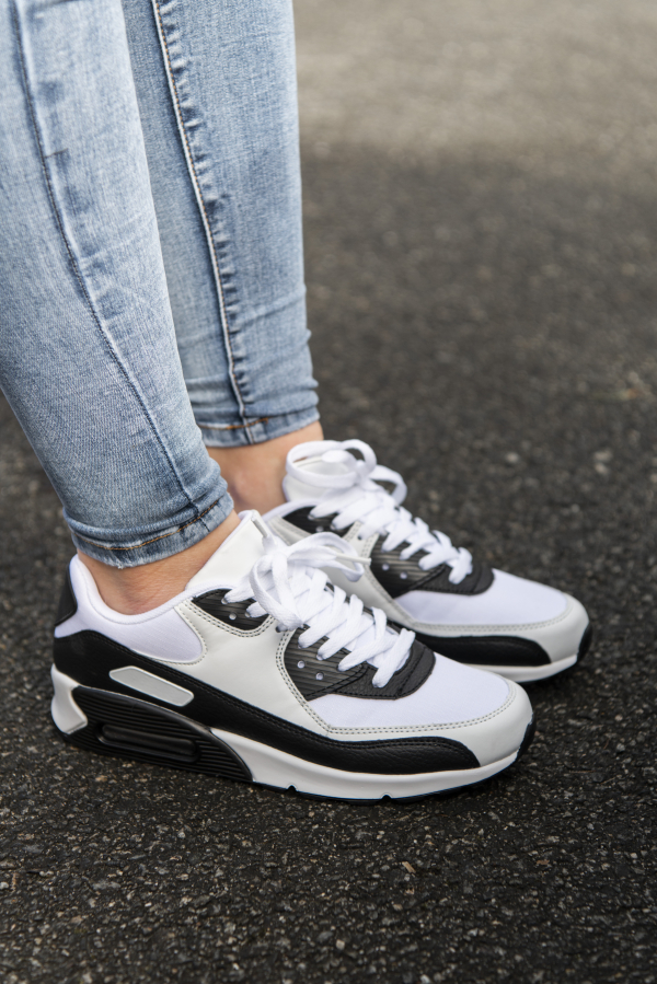 Sneakers - Kristine hvit