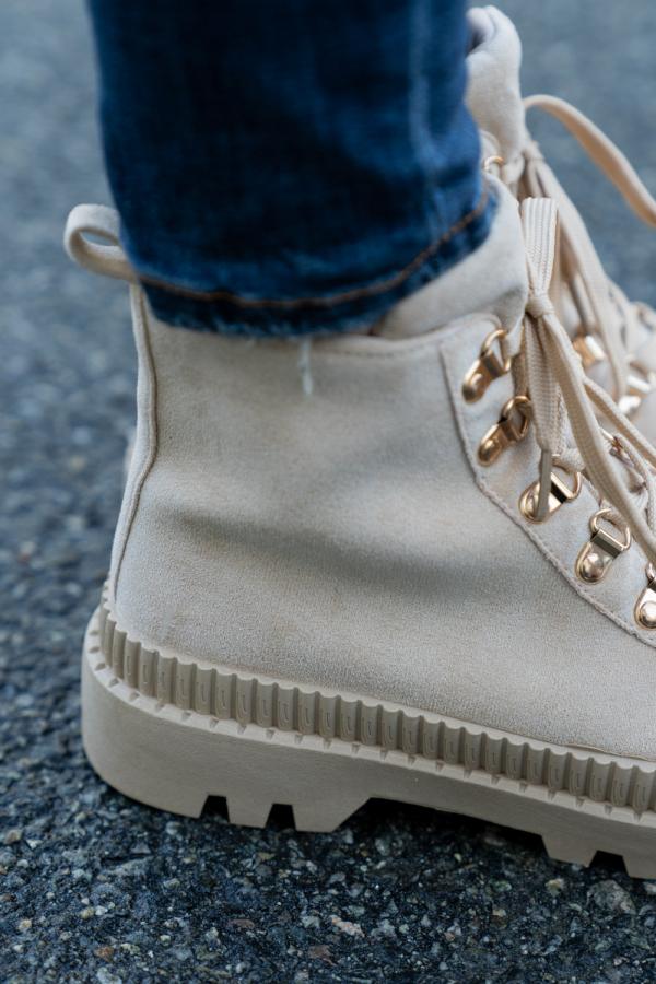 Sneakers - Pia beige