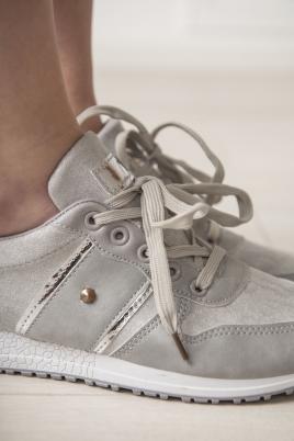 Sneakers - Lena grå