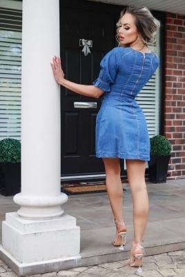 Kjole - Serena blå