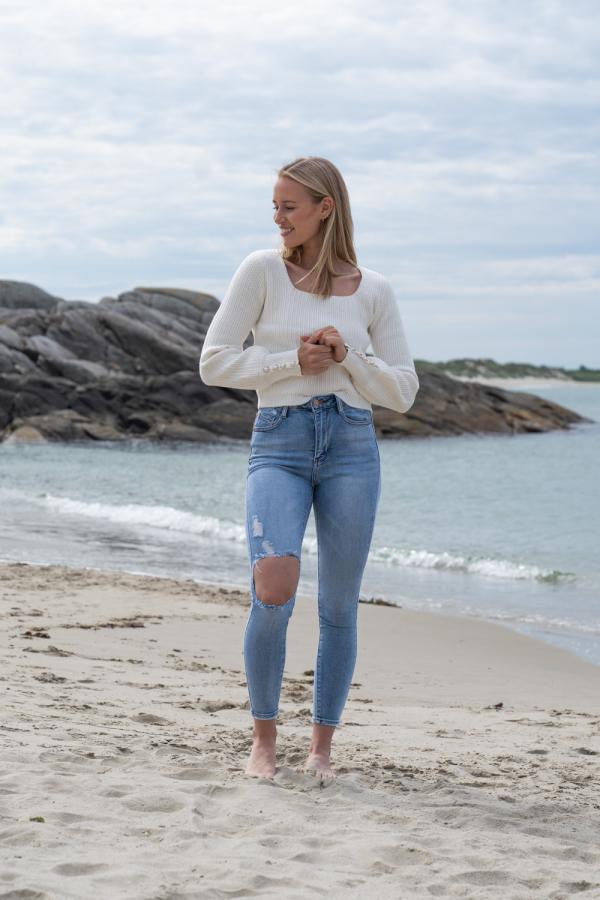 Jeans - Katrine blå