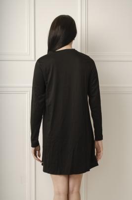 Kjole - Arrisa svart