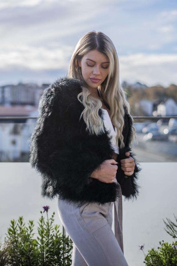 Jakke - North Exclusive Estelle Svart