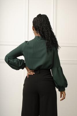 Skjorte - Ellie grønn