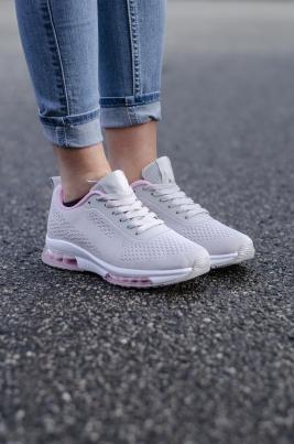 Sneakers - Hanne Grå/rosa