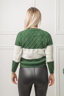 Genser - Camilla grønn