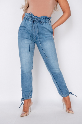 Jeans - Piper lys blå