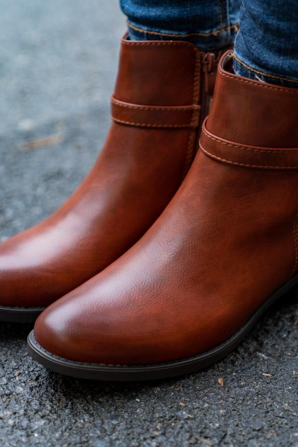 Boots - Agnes camel