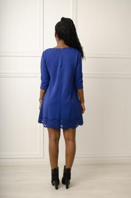 Kjole - Selma blå