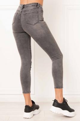 Jeans - Thea grå (3D878)