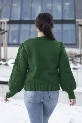 Genser - Thea grønn