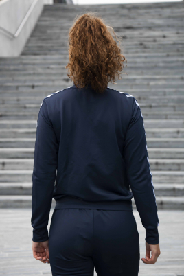 Hummel - hml NELLY ZIP JACKET navy