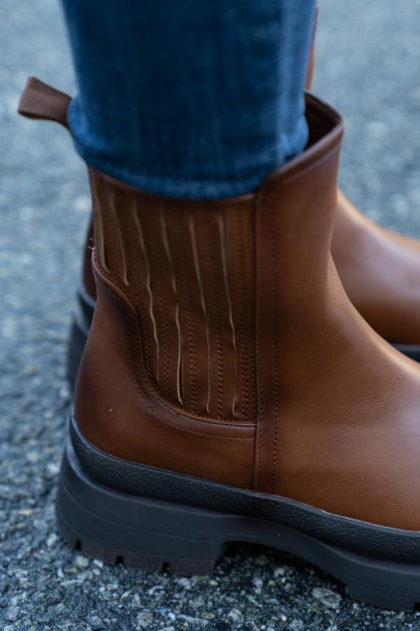 Boots - Silje kamel