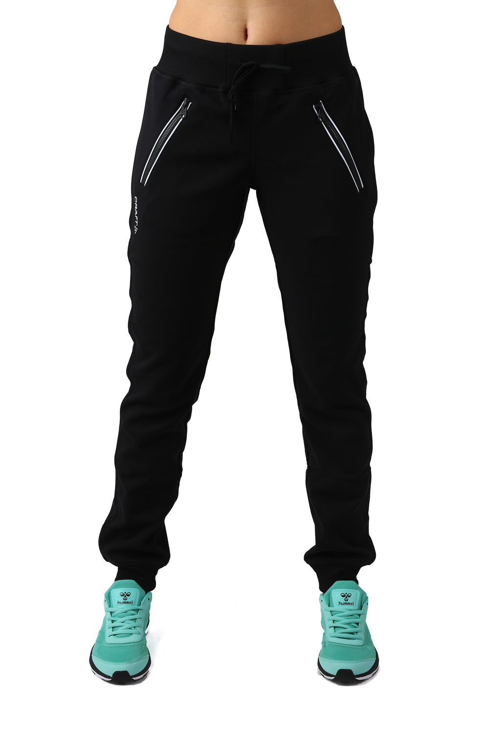05687cdb Motehus AS - Craft - In The Zone Sweatpants W Black