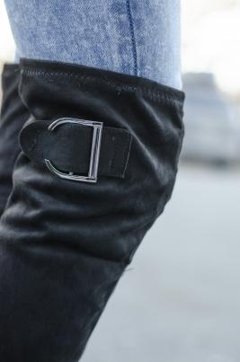 Støvletter - Cora svart