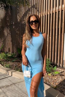Kjole - Maria blå