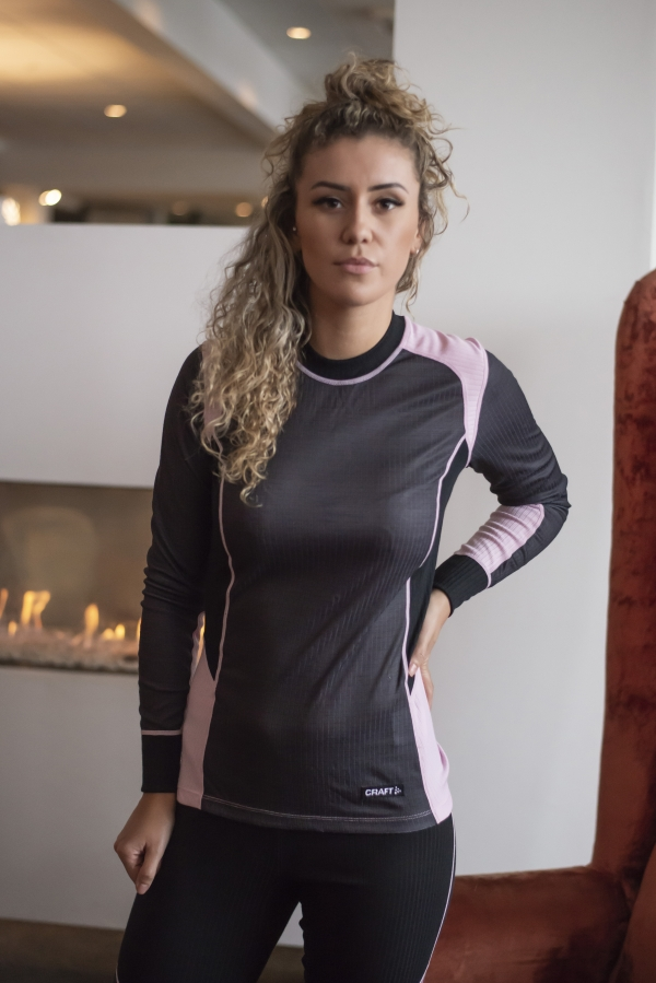 Craft - Baselayer Set Svart
