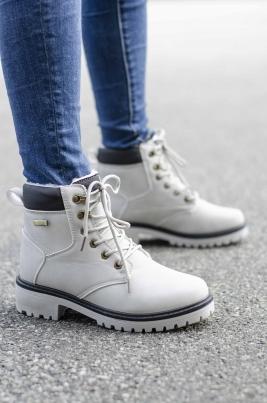 Boots - Amanda Grå Vinter