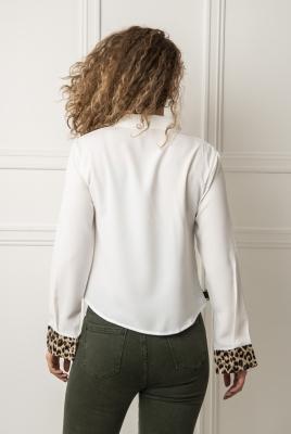 Skjorte - Mia hvit
