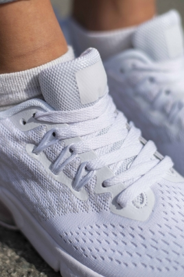 Sneakers - Lilja hvit