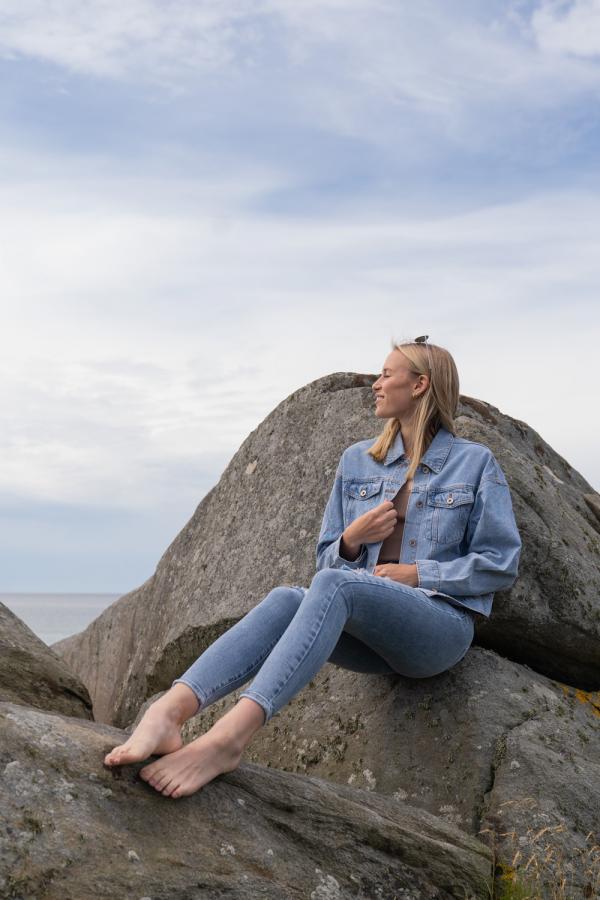 Jeans - Laura blå