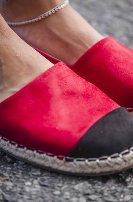 Espadrillos - Liv rød