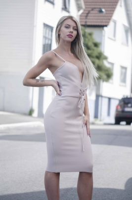 Kjole- North Exclusive Penelope Nude