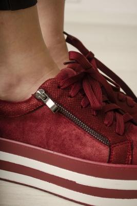 Sneakers - Eilis rød