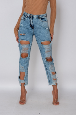 Jeans - Lotte blå