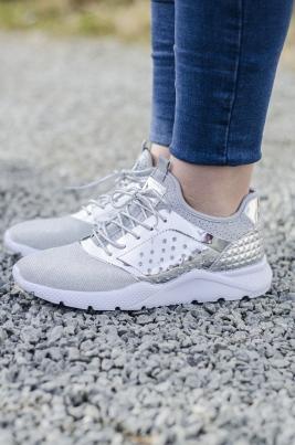 Sneakers - Synne sølv