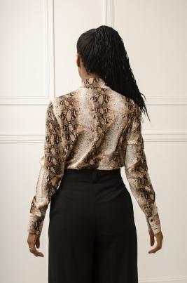 Skjorte - Eloise brun