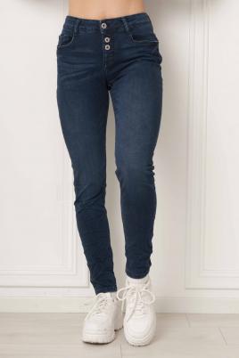 Jeans - Helene mørk blå